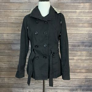 Max Mara Black Trenchcoat